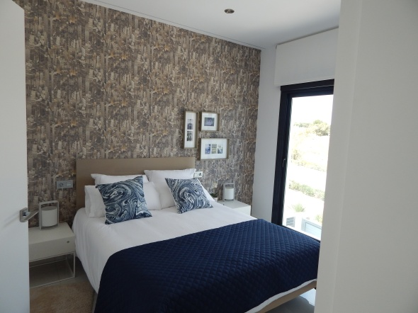 Lo Romero villa bedroom