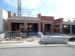 LRP villas in construction central island