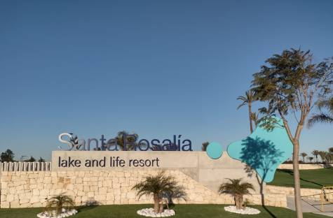 Santa Rosalia Lake & Life Resort Entrance